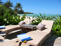 Rarotonga Island on Rarotonga- Sea Change Villas on Rarotonga, Cook Islands: 6 villas situated on the  south pacific island paradise Rarotonga Cook Islands